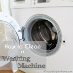 cleaning a washing machine