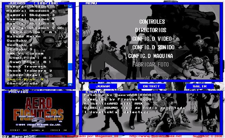 Neo Geo Rage [Emulador][181 Rooms][Misubida]