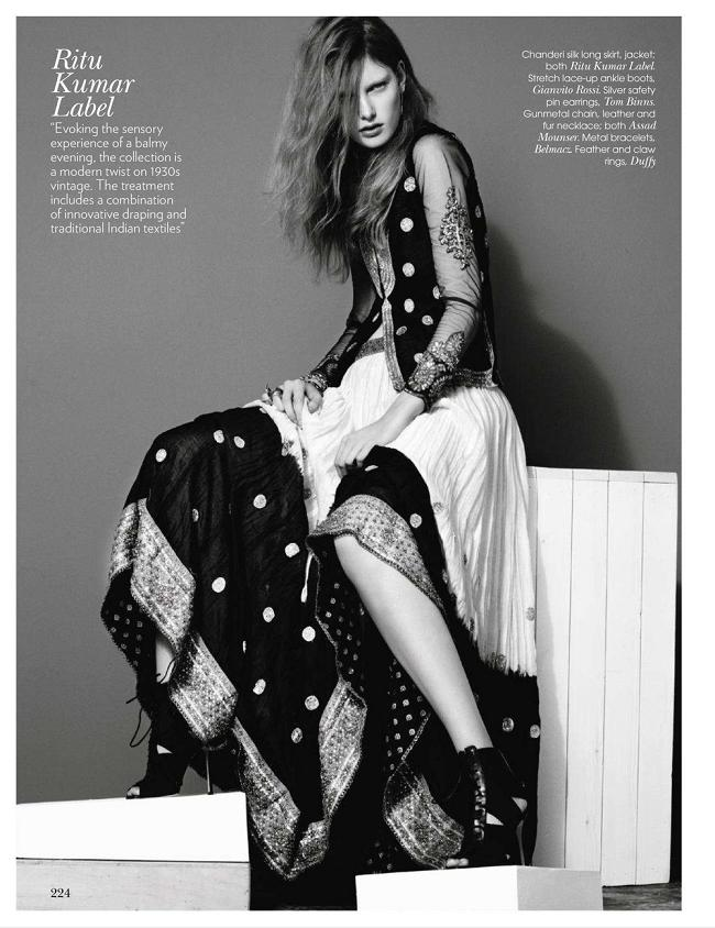 Spring Fever, Vogue India, March 2011 - My Face Hunter
