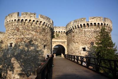 Kalemegdan Castle in Belgrade Serbia