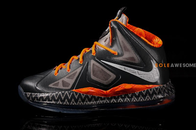 nike lebron 10 gs black history month 1 02 Introducing the Nike LeBron X Black History Month in Kids Sizes