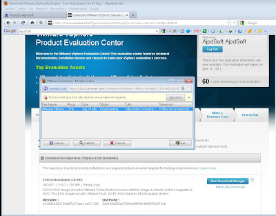 Requisitos para instalar VMware ESXi 5 virtualizado sobre VMware Workstation 7