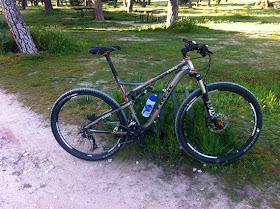 Probando una bici doble de 29 pulgadas, la Trek Superfly 100 AL Elite