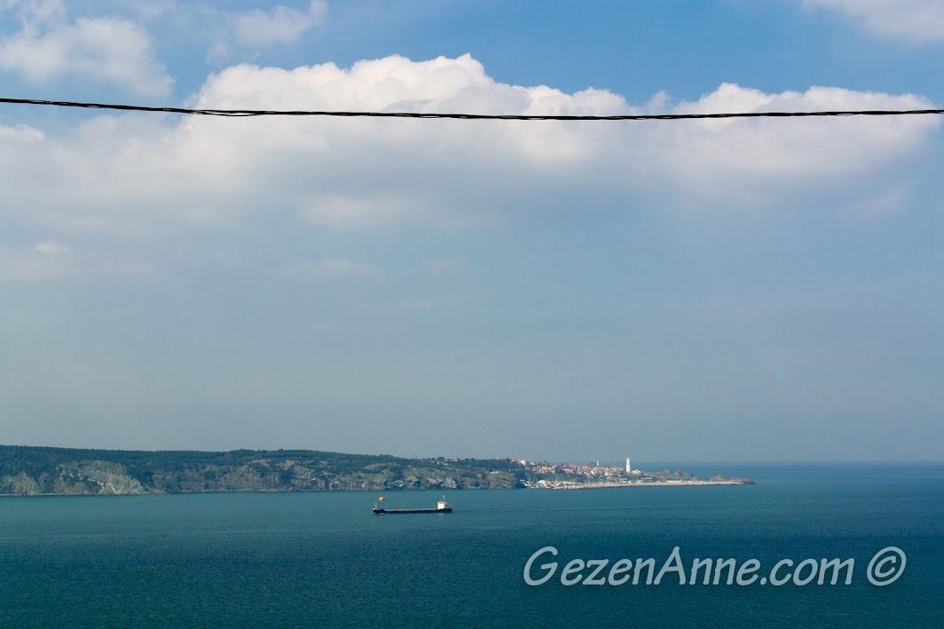 Boğaz'ın Karadeniz ile birleştiği yer
