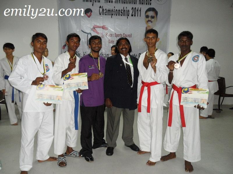 Malaysia - Indo Invitational Karate Championship 2011