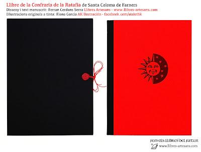 Llibre de la Confraria de la Ratafia, fet a Llibres Artesans