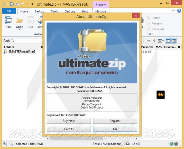 UltimateZip 8