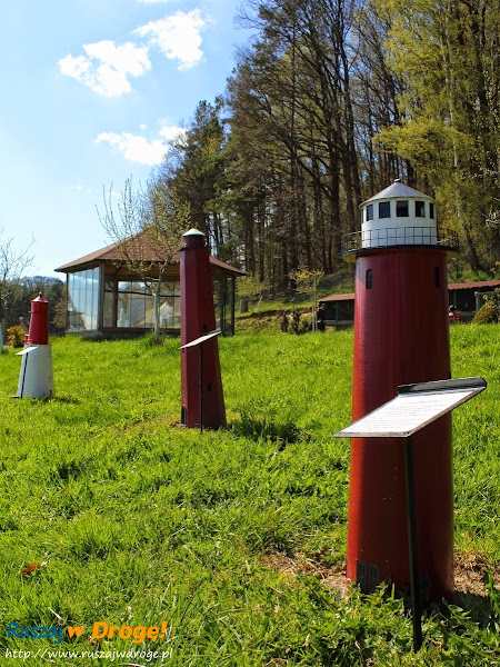 Park Miniatur Chocielewko - latarnia morska