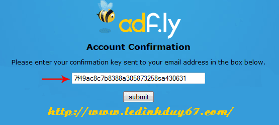 adf5 Kiếm tiền từ rút gọn link với Adf.ly