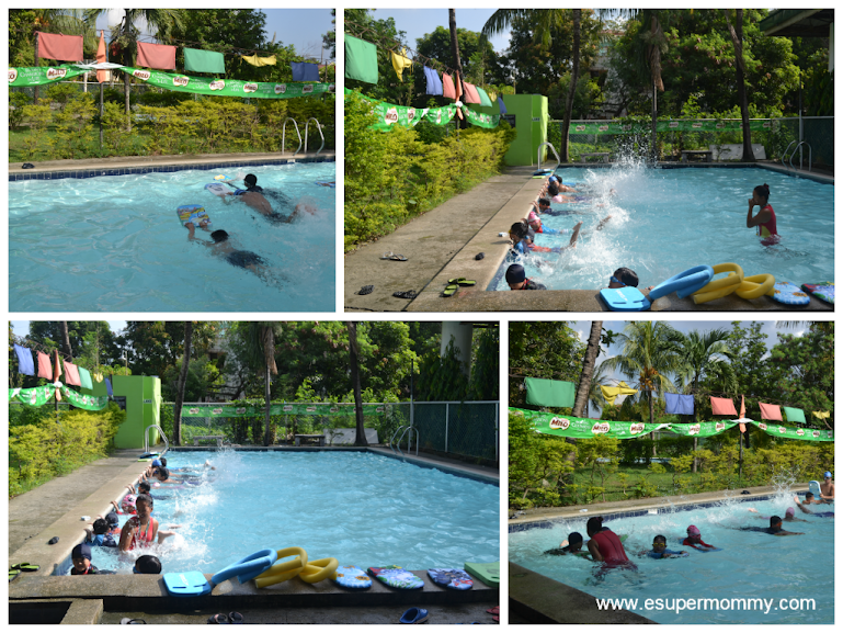 Milo Swimming Sports Clinic in Action