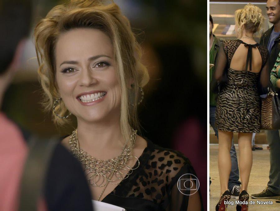 moda da novela Em Família - look da Shirley dia 2 de junho