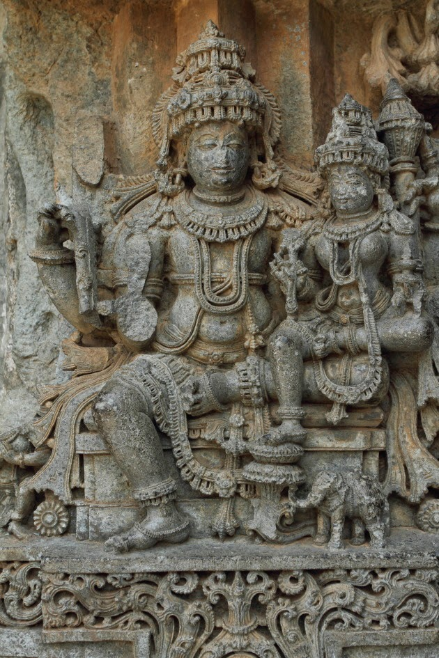 Lakshmipati Statue at the Keshava Temple of Somnathpur
