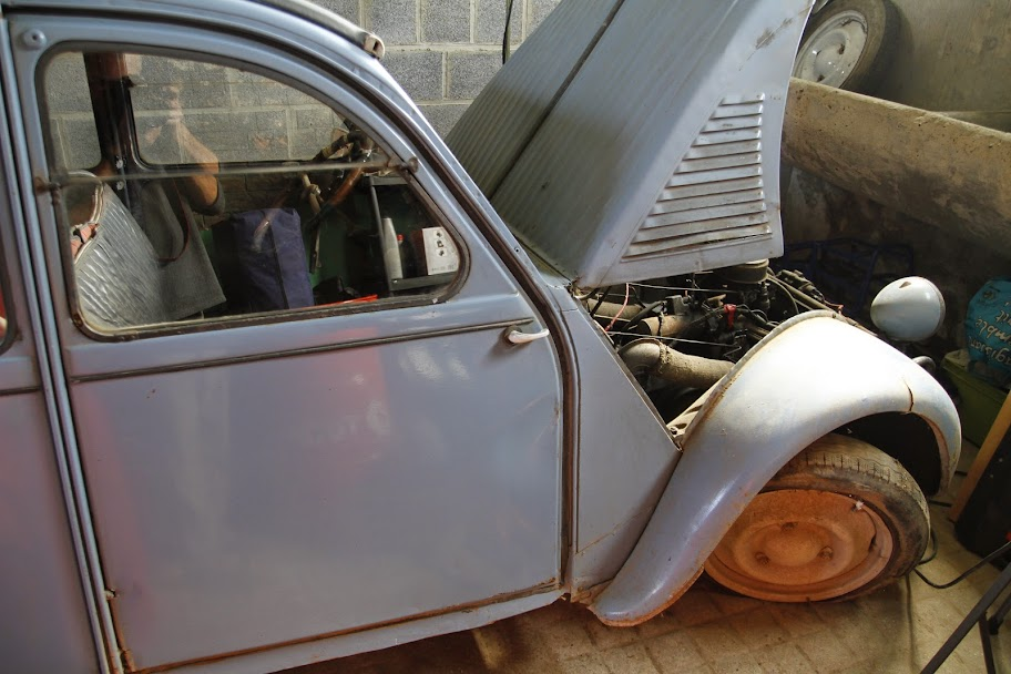restauration 2cv azlp de 1959 du papy    forum 2cv