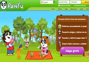 Panfu: Portal niños jugar aprender ingles
