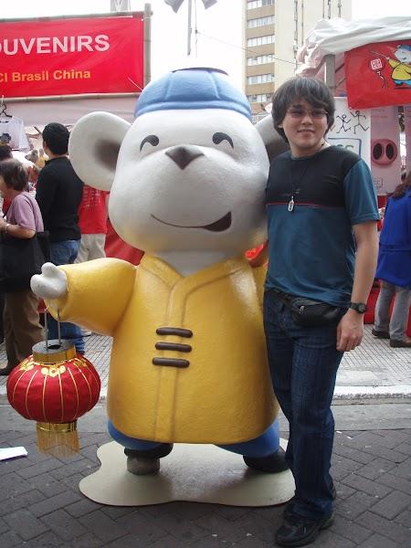 Eu no Ano Novo Chinês