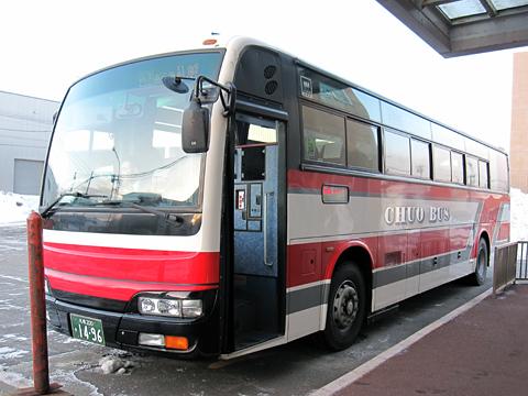 北海道中央バス「高速るもい号」直行便 1496 中央バス留萌ターミナル改札中