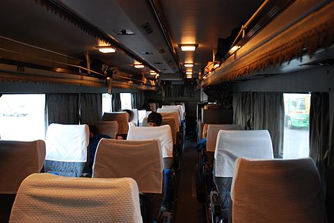 西鉄高速バス「道後エクスプレスふくおか号」 3134 車内