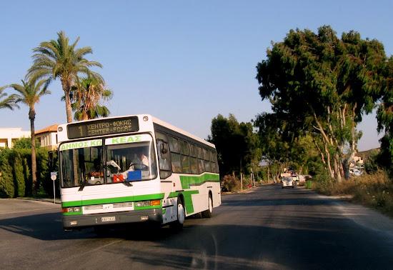 a moze autobusem ?