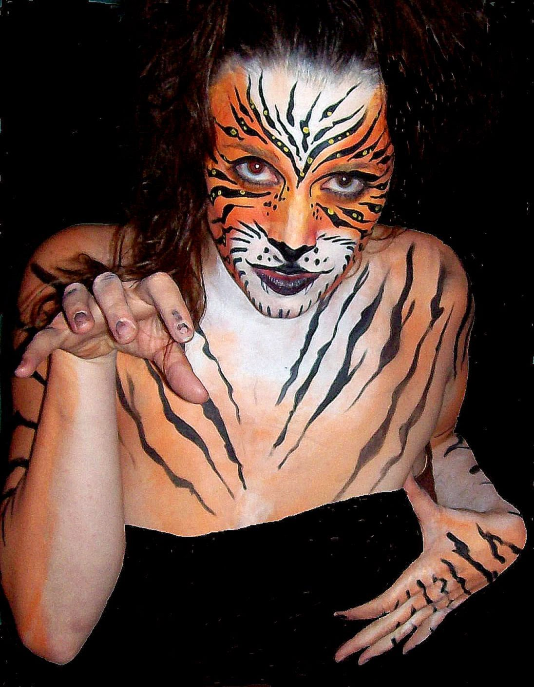 2011 Tiger Tattoo Designs For Women Tiger Body Art for Teenager