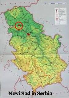 My Child Novi Sad - Novi sad map