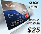 cara mendapatkan kartu payoneer dan bonus $25