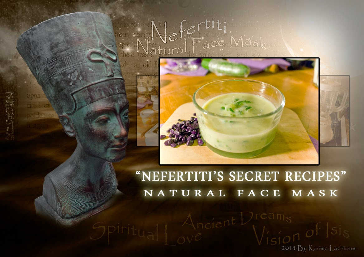 Nefertiti's Secret Recipes - Nefertiti's Natural Face mask