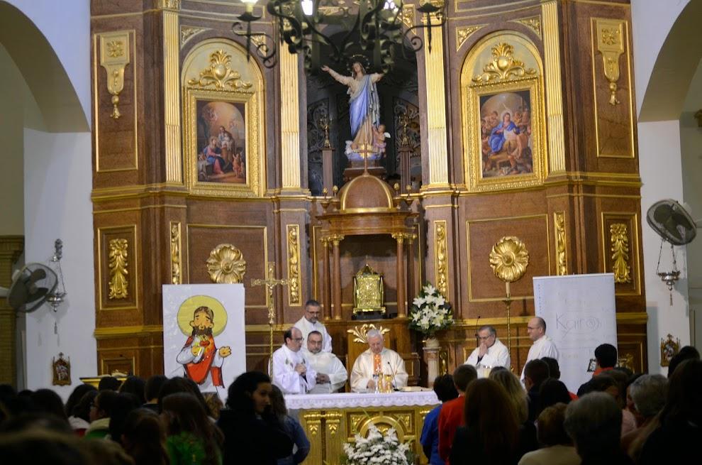 Eucaristía en el II Encuentro Kairós, presidida por el Sr. Obispo