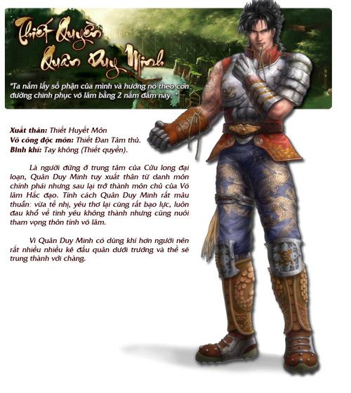 Những nhân vật nổi bật trong Cửu Long Tranh Bá 1