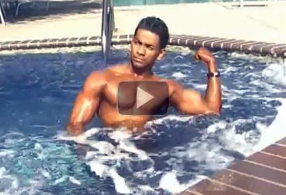 Freddie Naidu in Gym and Pool