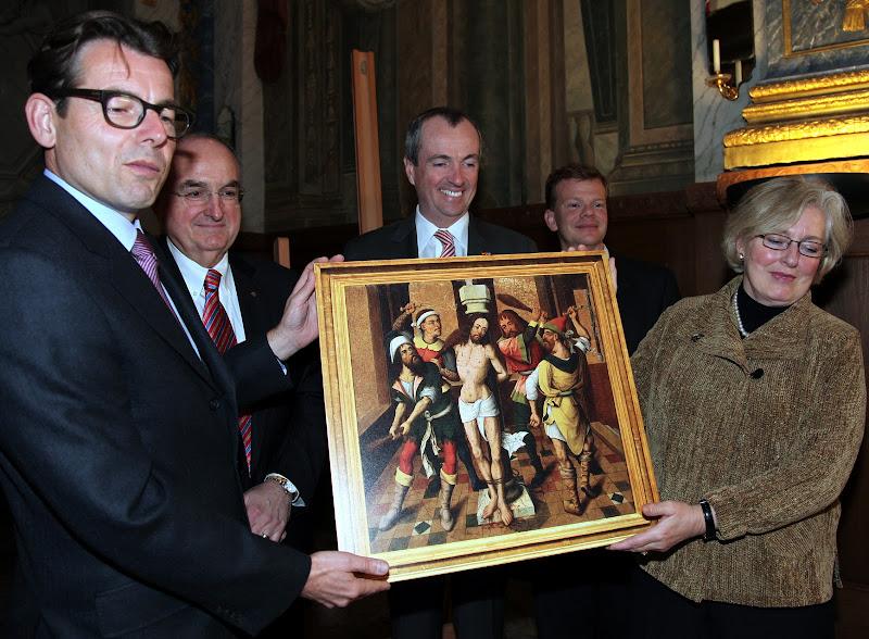 Botschaft Murphy bei der Zeremonie im Schloss Charlottenburg