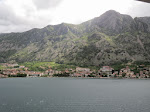 Getting close to our dock in Kotor