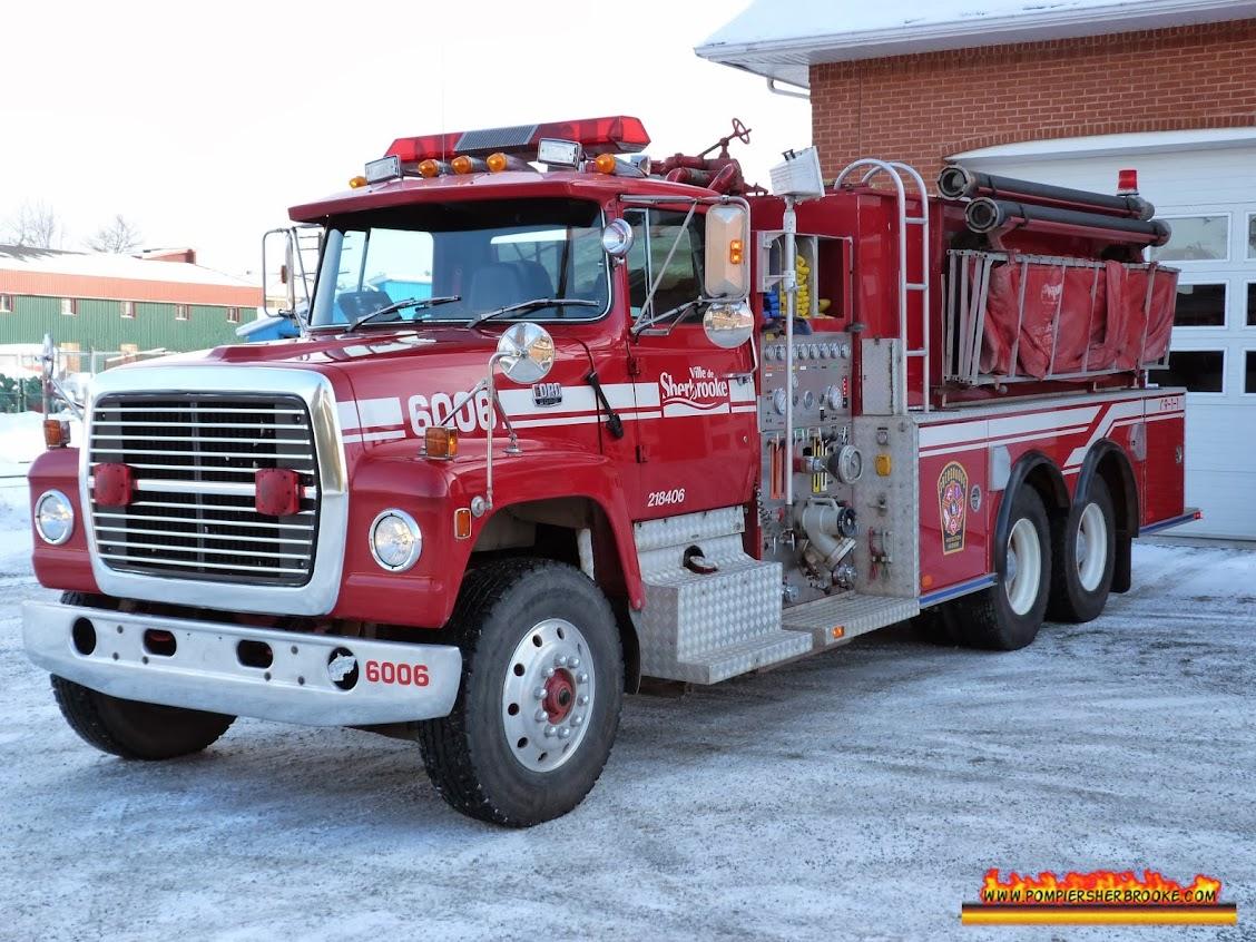 Citerne 1106 / Pompier Sherbrooke