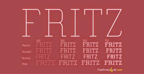FRITZ & RODUS Free Fonts