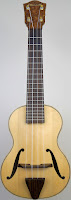 Jazzbox Archtop Spruce & Maple Acoustic Soprano