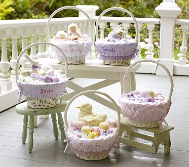 Pottery Barn Kids Easter Baskets And Liners Decor Look