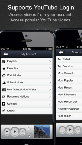 FoxTube - YouTube Player v2.0.0 for iPhone Apps