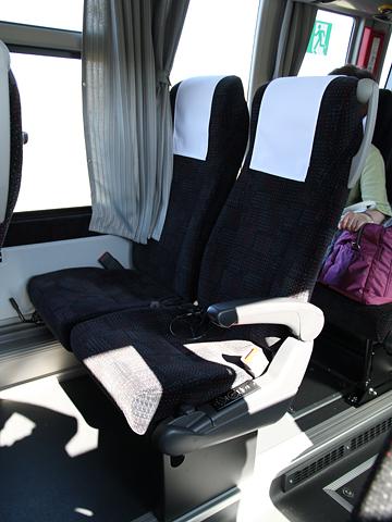 沿岸バス「特急はぼろ号」・392 シート
