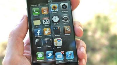 iPhoneの液晶を単純に4インチまで拡大する