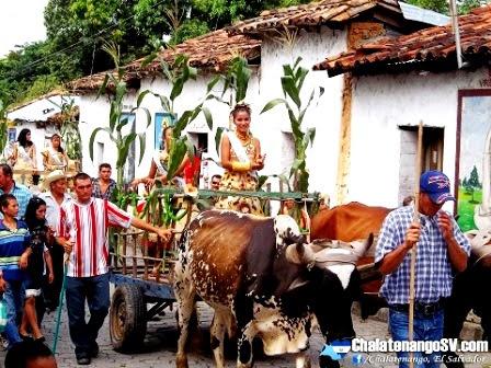 Festivales del Maíz en el departamento de Chalatenango
