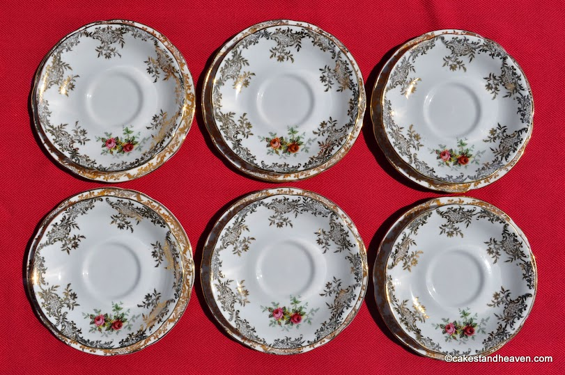 Royal Standard Tea Set Saucers x 6