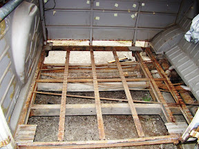 Cargo Bay Chassis and Floor Repair