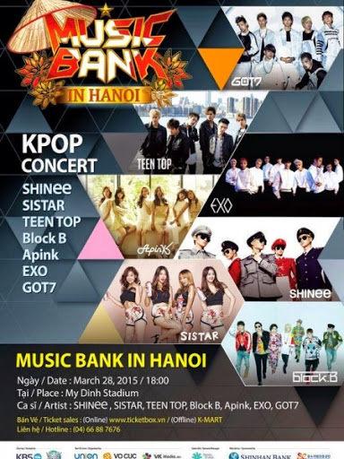 KBS Music Bank In Hanoi