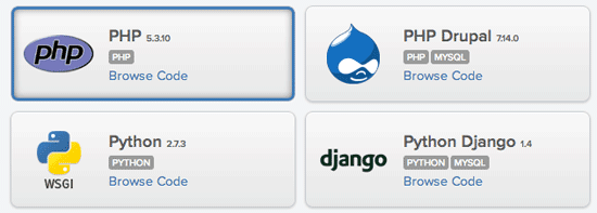 Appfog Free Hosting for Beginners