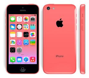 iPhone5c ピンク