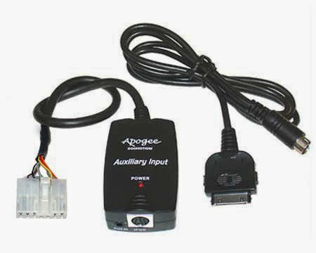 Direct Audio Input From iPod Dock Connector to 1998-2004 Toyota Radio w/CD Changer Input