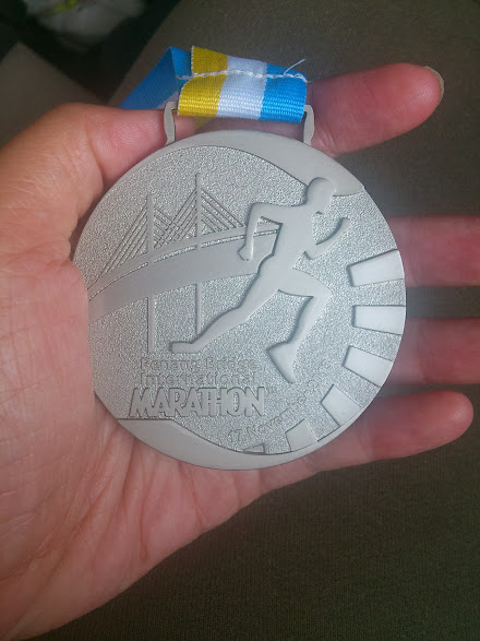 10KM Medal from PBIM 2013.
