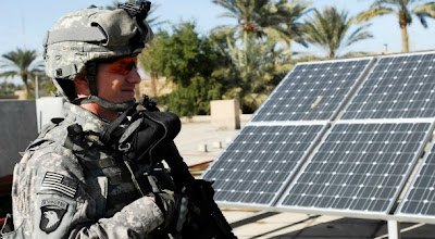 U.S. Army goes green