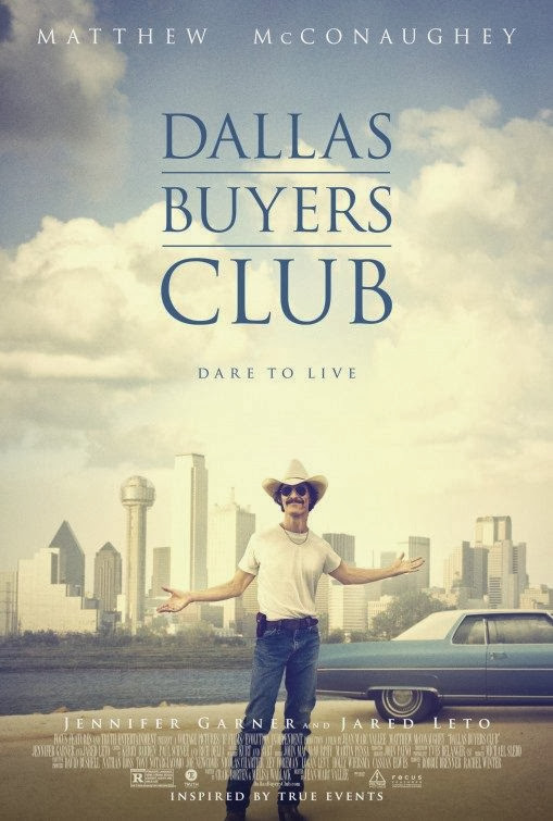 Poster Of English Movie Dallas Buyers Club (2013) Free Download Full New Hollywood Movie Watch Online At Alldownloads4u.Com