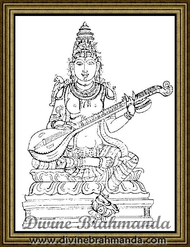 Soundarya Lahari Sloka, Yantra & Goddess To Cure Hydrocele & Elephantiasis - 55