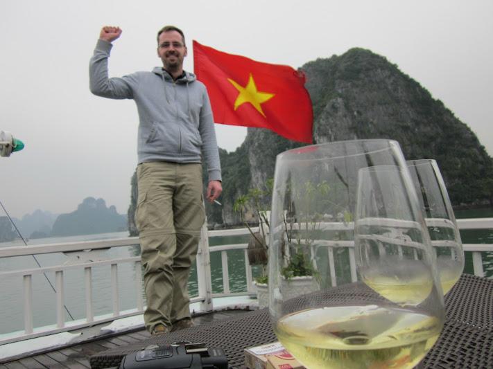 Uncle Ho salute